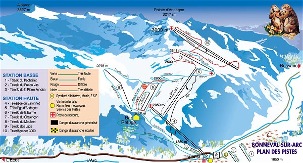 Bonneval sur arc station de ski les stations de ski sur ski - Office de tourisme de bonneval sur arc ...