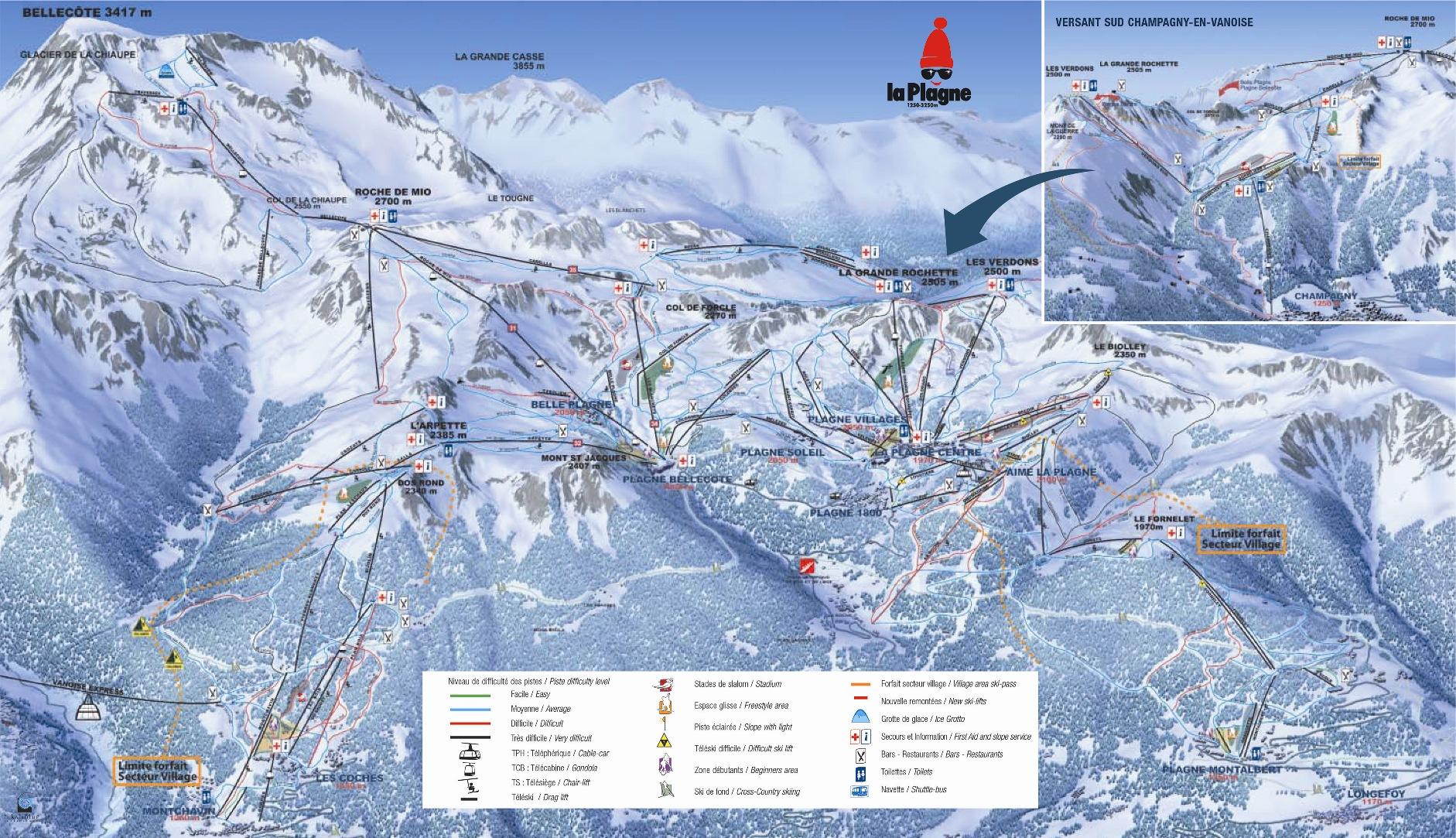 Champagny en vanoise station de ski les stations de ski - Office de tourisme champagny en vanoise ...