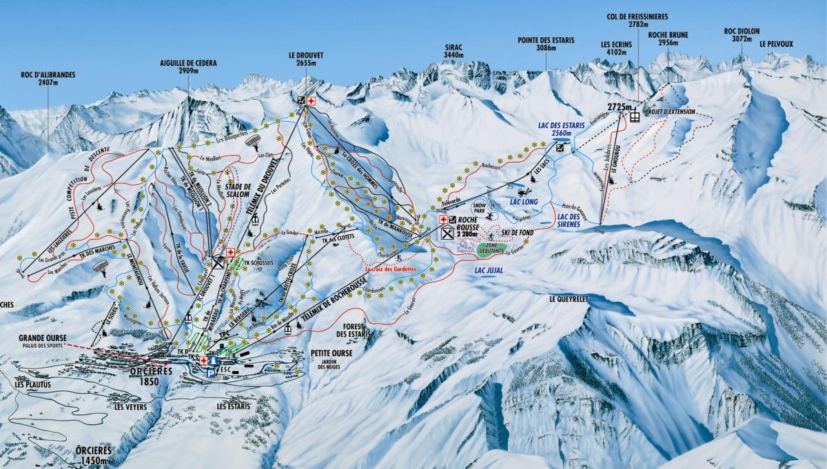 Orci res merlette station de ski les stations de ski sur - Office tourisme orcieres merlette 1850 ...
