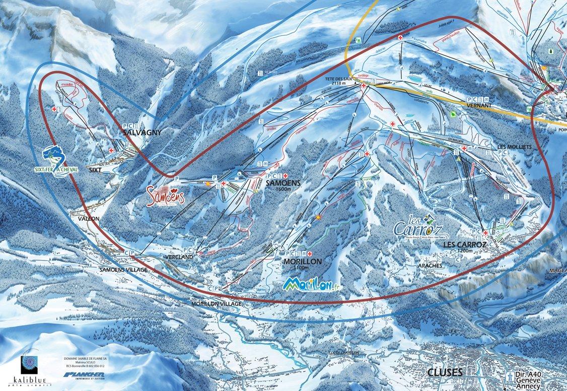 samoens station de ski les stations de ski sur ski. Black Bedroom Furniture Sets. Home Design Ideas